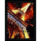 Алмазная вышивка Огни Парижа