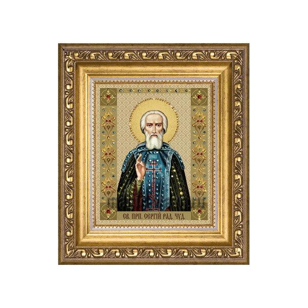 Алмазная вышивка Сергий Радонежский