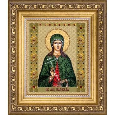 Алмазная вышивка Святая мученица Надежда