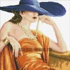 Алмазная вышивка Прекрасная леди