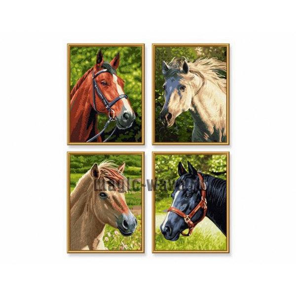 Лошади и пони 4 шт.
