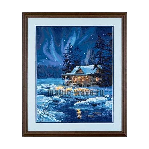 Дом, залитый лунным светом