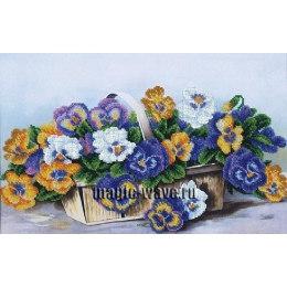 Вышивка бисером Анюткино лукошко