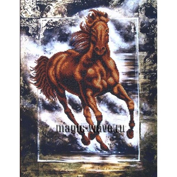 Вышивка бисером Победный конь