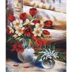 Вышивка бисером Майские цветы