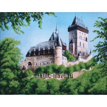 Вышивка бисером Замок