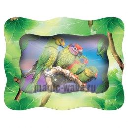 Аппликация VIZZLE Амазонские попугаи
