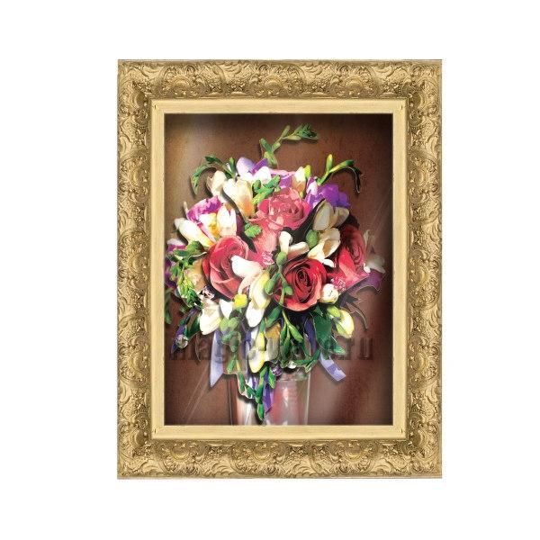 Аппликация VIZZLE Ваза с цветами