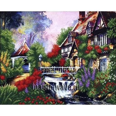 Вышивка бисером Сказочный пейзаж 3
