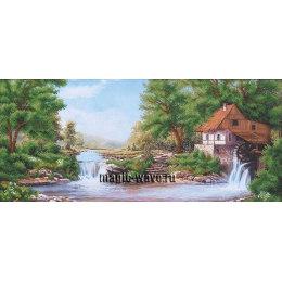 Вышивка бисером Водяная мельница
