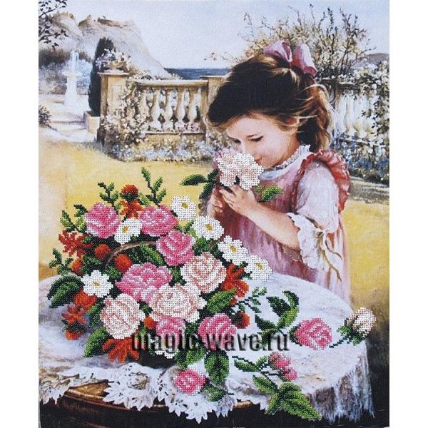 Вышивка бисером Маленькая леди