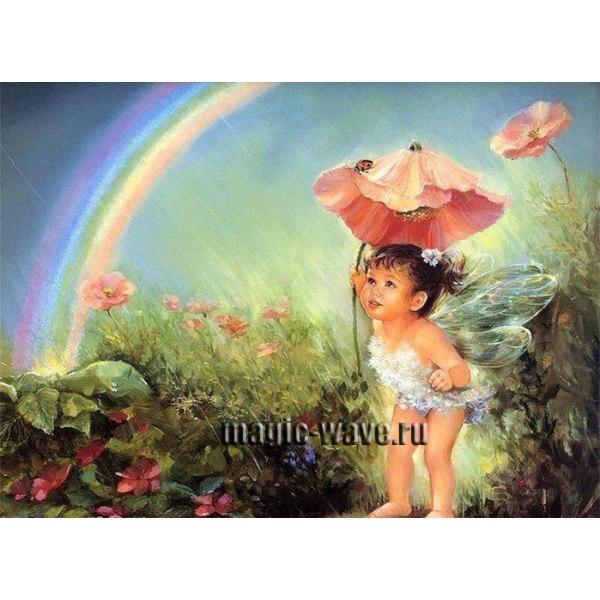 Ангел в волшебном саду
