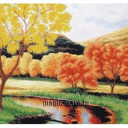 Вышивка бисером Задумчивая осень