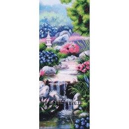 Вышивка бисером Водопад в стиле фен-шуй