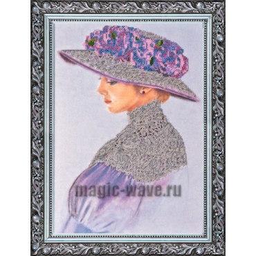Вышивка бисером Виолет