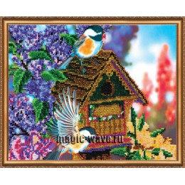 Вышивка бисером В саду-3