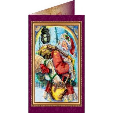 Вышивка бисером Гостинцы (открытка)