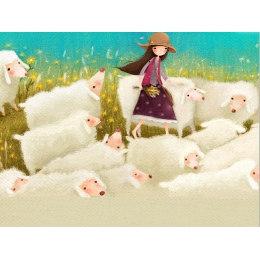 Юная пастушка