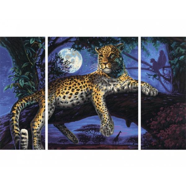 Ягуар в ночи