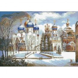 Алмазная вышивка Русь православная
