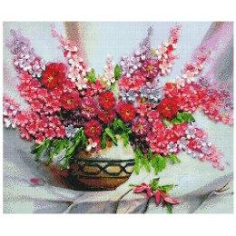 Алмазная вышивка Розовый букет
