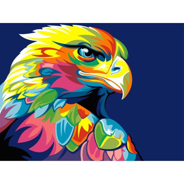 Алмазная вышивка Радужный орел