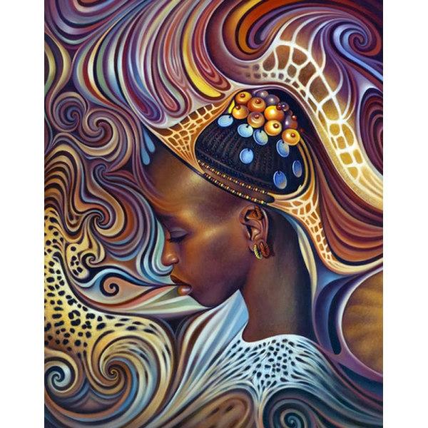 Алмазная вышивка Африканский мотив