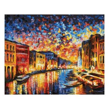Гранд-Канал Венеция (художник Леонид Афремов)