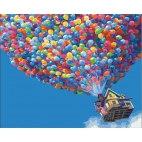 Домик на воздушных шариках