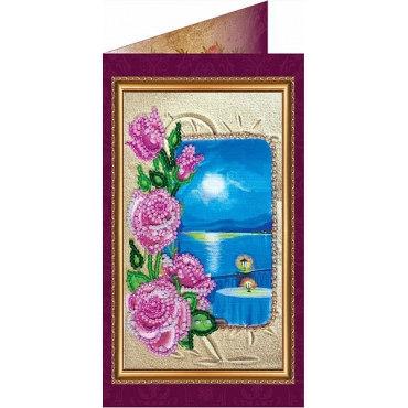 Вышивка бисером Южная ночь-1 (открытка)