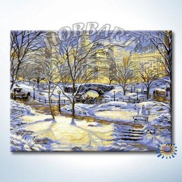 Зима в городе (без подрамника)
