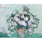 Белые розы Ван Гога