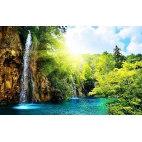 Алмазная вышивка Водопад