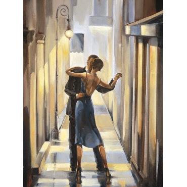 Алмазная вышивка Танец в переулке