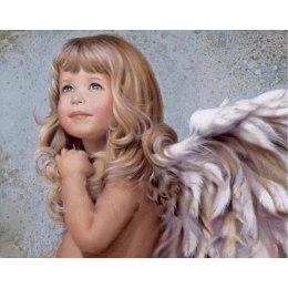 Алмазная вышивка Чудесный ангел