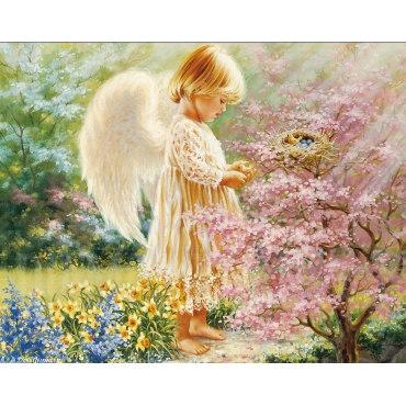 Алмазная вышивка Маленький ангел