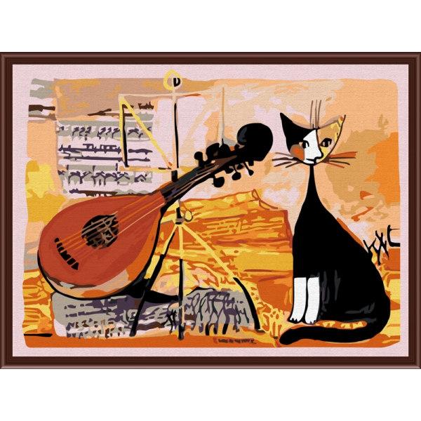 Кот-музыкант
