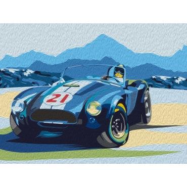 Ретро-автомобиль Cobra
