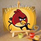 Angry Birds. Red bird. В полнолуние.