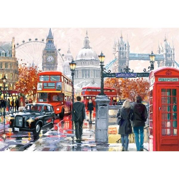 Пазл Коллаж. Лондон