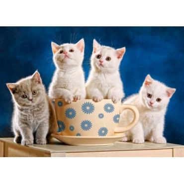 Пазл Четыре котенка