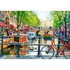 Пазл Пейзаж. Амстердам