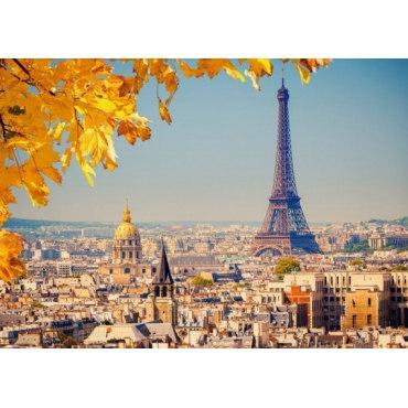 Пазл Осень в Париже