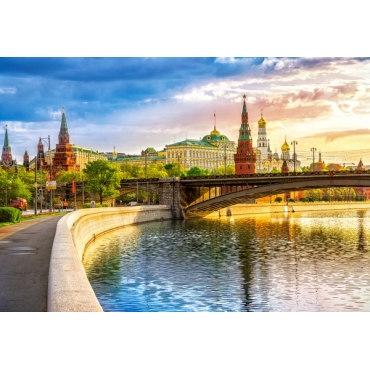 Пазл Набережная Москва-реки