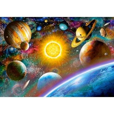Пазл Открытый космос