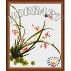 Четыре благородных цветка: Орхидея