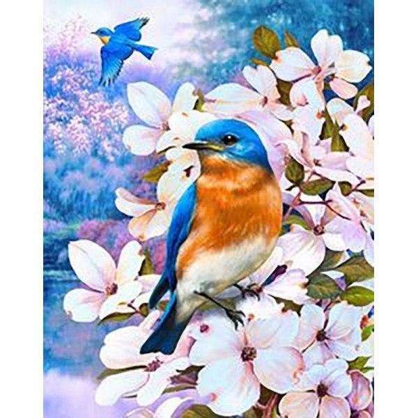 Алмазная вышивка Птицы лета