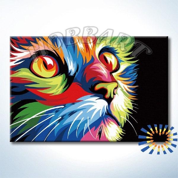 Ваю Ромдони. Радужный кот