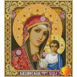 Алмазная вышивка Казанская Богородица