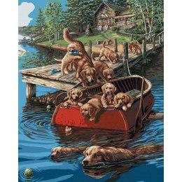 Плавание по-собачьи